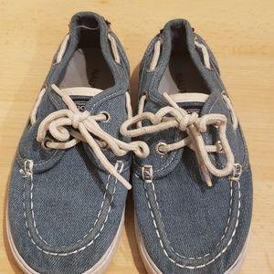 Boys Nautica deck shoes size 12